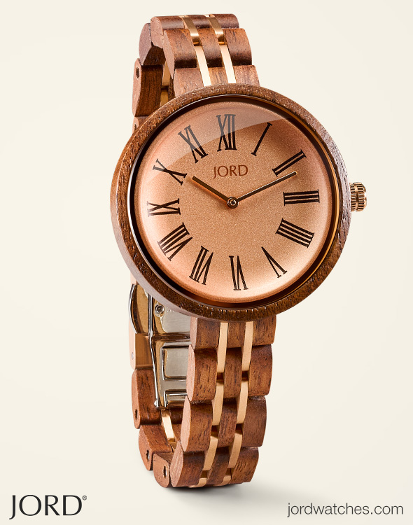 Womens Wooden Watches by JORD