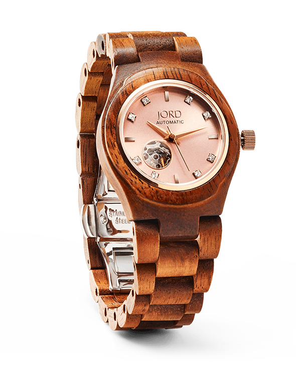 Cora Koa & Rose Gold  Womens Wooden Watch By Jord. Nakshatra Diamond. Boy Gold Pendant. Bracelet Emerald. Silver Diamond. Gold And Diamond Anklet. Personal Bracelet. Talking Watches. Platinum Bangle Bracelet