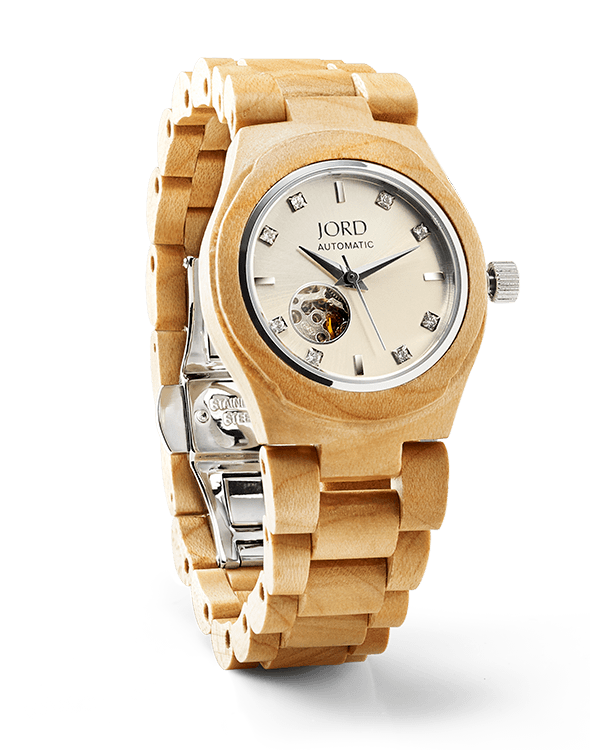 women's watches by JORD cora series maple