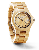 Ely - Maple Wood Watch by JORD