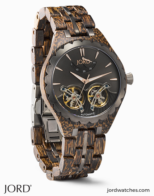 6684a0584cc68 Mens Wooden Watches by JORD Shop our collection of wood watches for men.  JORD is a premium designer of hand-crafted wood watches for him.