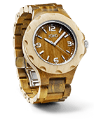 Sully - Green Sandalwood Wood Watch by JORD