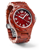Sully - Red Sandalwood Wood Watch by JORD
