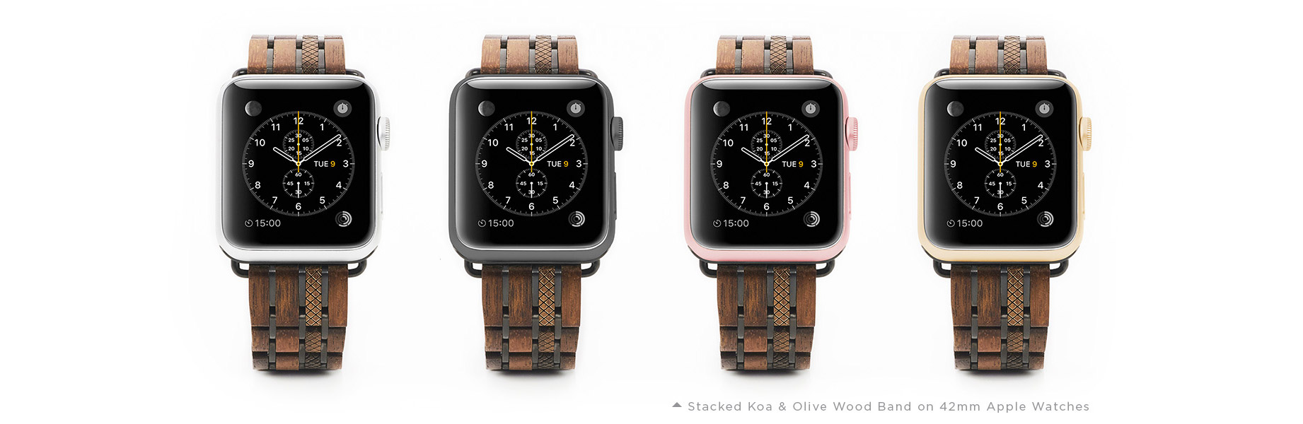 Apple Watch Band - Wood & Leather Bands - All Series   JORD